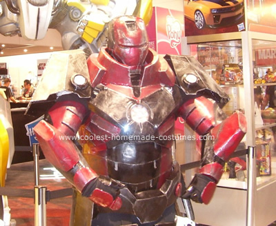 Iron Man Heavy Artillery Costume