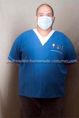 Homemade Dentist Costume