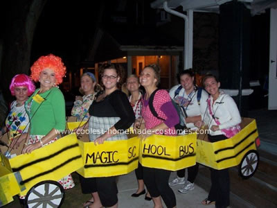 Magic School Bus Group Halloween Costume