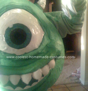 Mike Wazowski from Monsters Inc. Costume