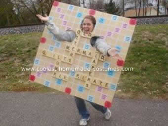 Operation And Scrabble Game Costumes