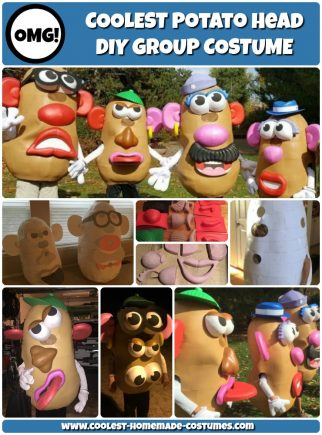 50 Creative Homemade Mr Potato Head Costumes