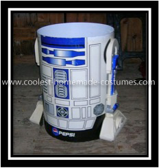 Coolest Ever Driving R2D2 Halloween Costume