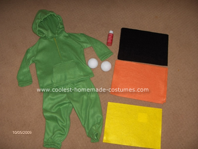 Red Eyed Tree Frog Costume