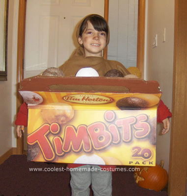 Tim hortons Coffee and Box of Timbits Costumes