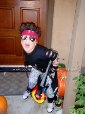 Tommy Lee Costume