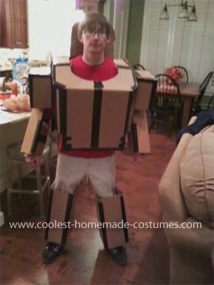Cool Transforming Optimus Prime Costume