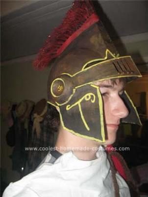 Trojan Man Condom Costume