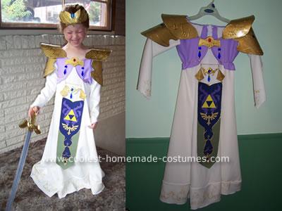 Princess Zelda from Nintendo Costume