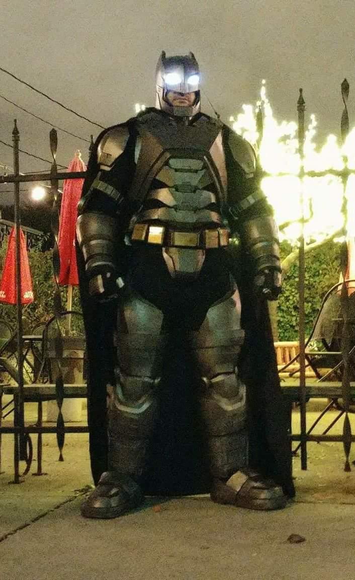 Coolest armored Batman costume