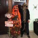Creepy DIY Rotting Pumpkin Costume