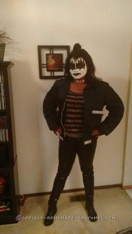 Female Gene Simmons Kiss Costume