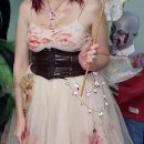 Scary DIY Tooth Fairy Costume