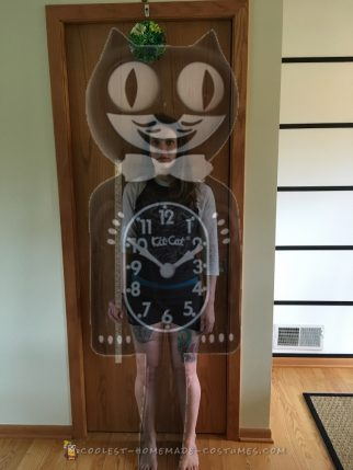 Awesome Homemade GIANT Kit-Cat Klock with Automatic Moving Eyes