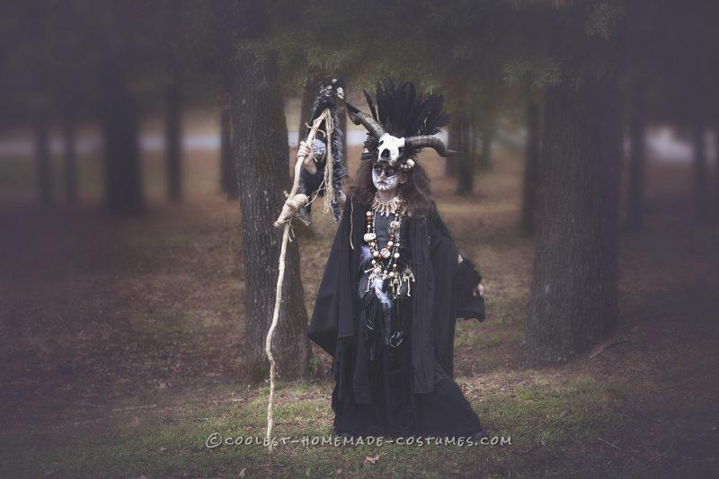 Best Voo Doo Priestess costume for 9 yr old girl