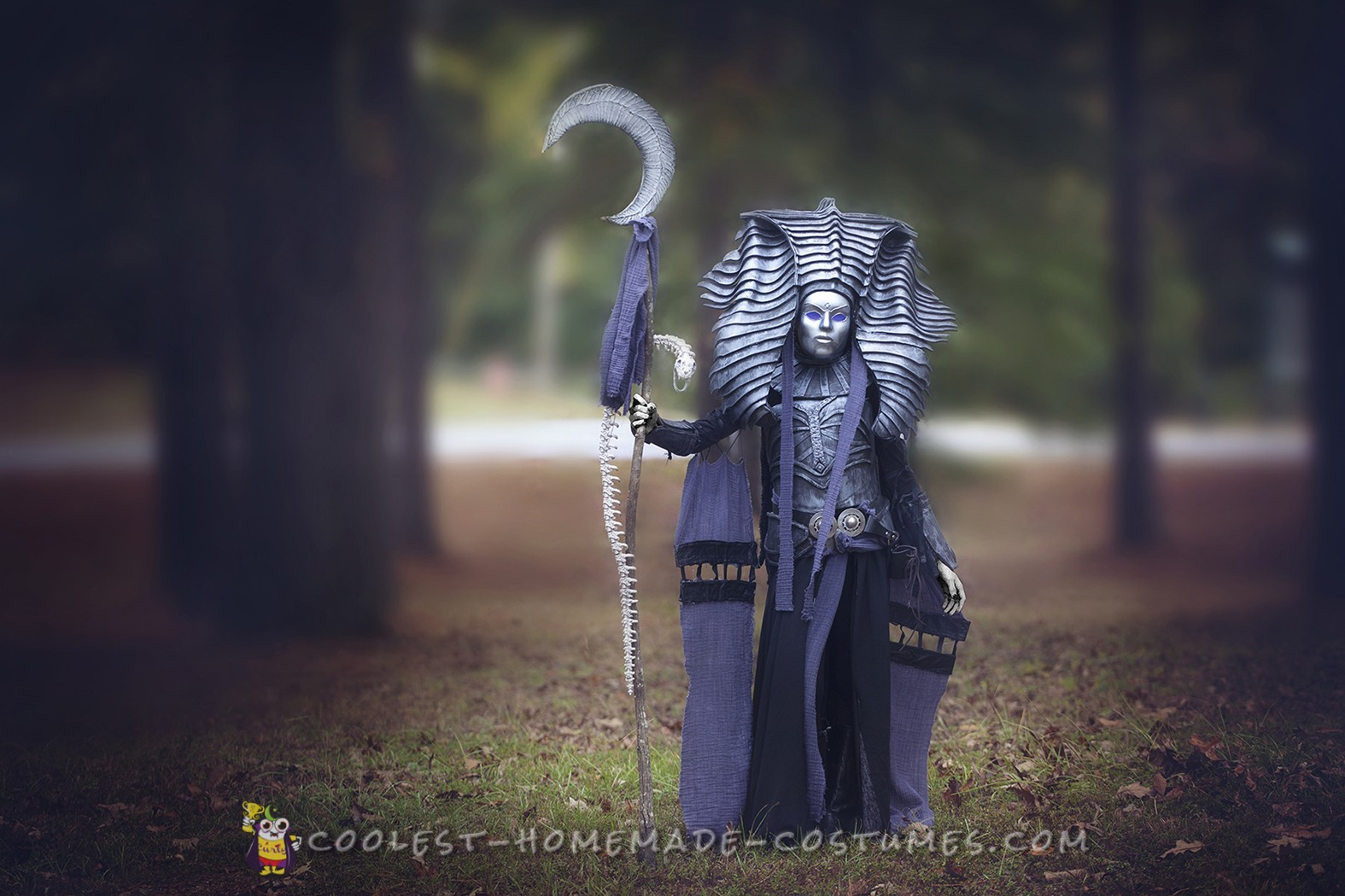 Cleopsis, Eater of death costume!