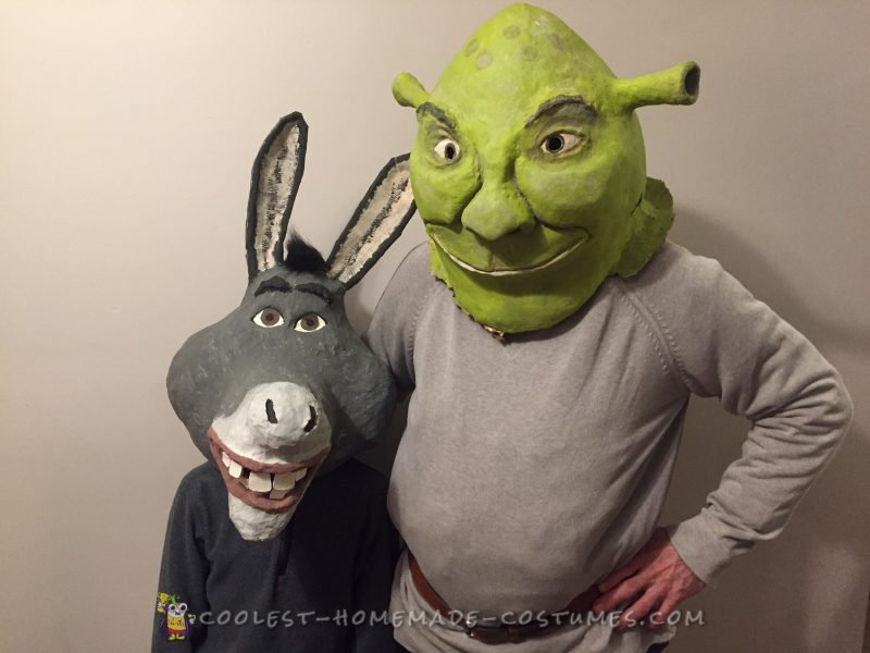 Shrek & Donkey - 9 Years in the Making