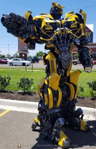 The Amazing 10' Bumblebee Costume
