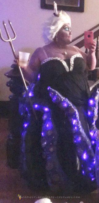 Ursula the glitzy sea witch