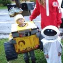 wall-e theme costumes in 2 weeks