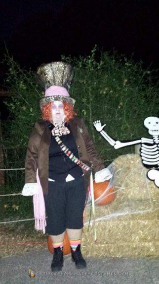 Whimsical Homemade Mad Hatter