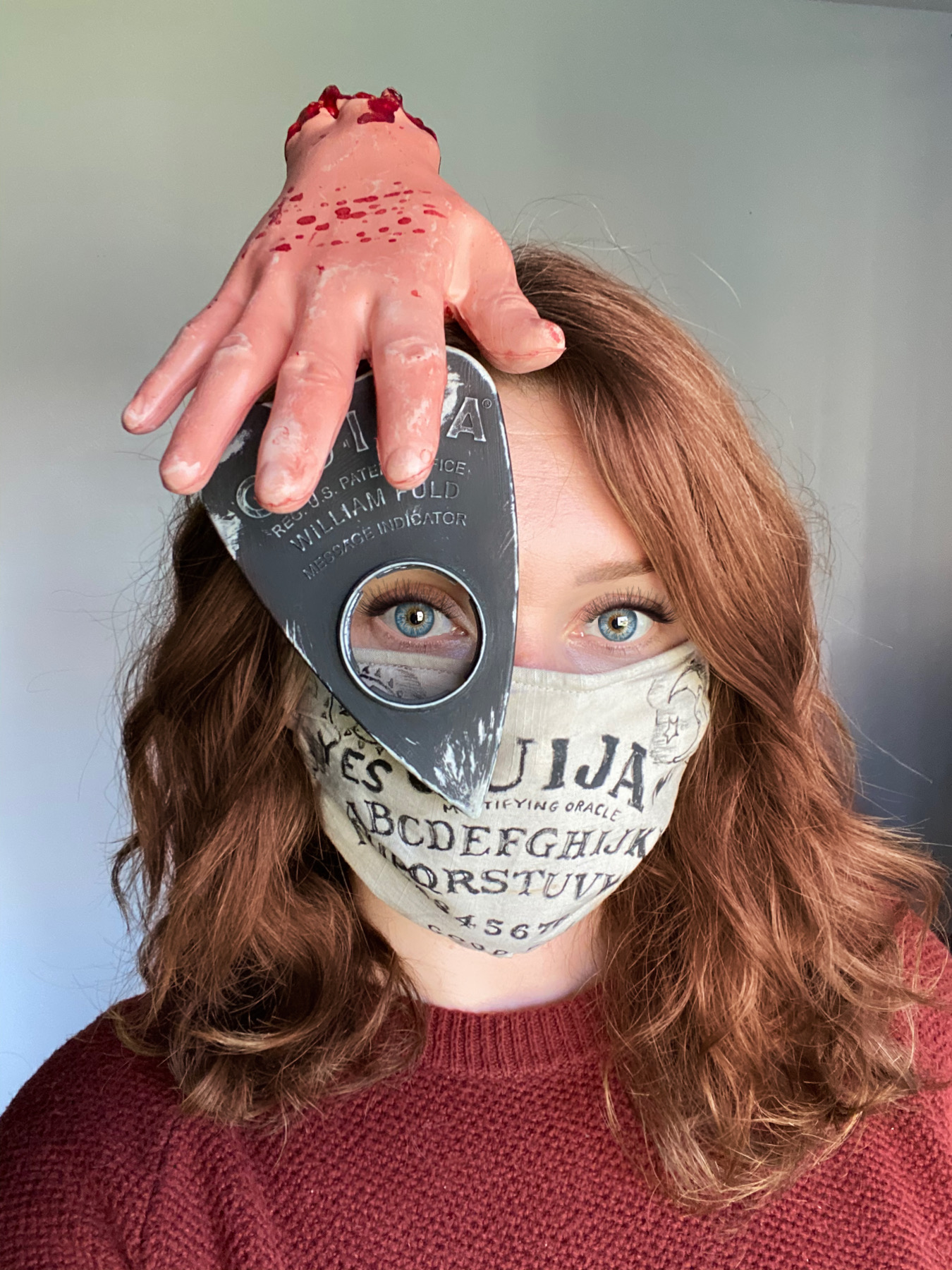 A costume for everyone in 2020: Ouija wear a mask?!?