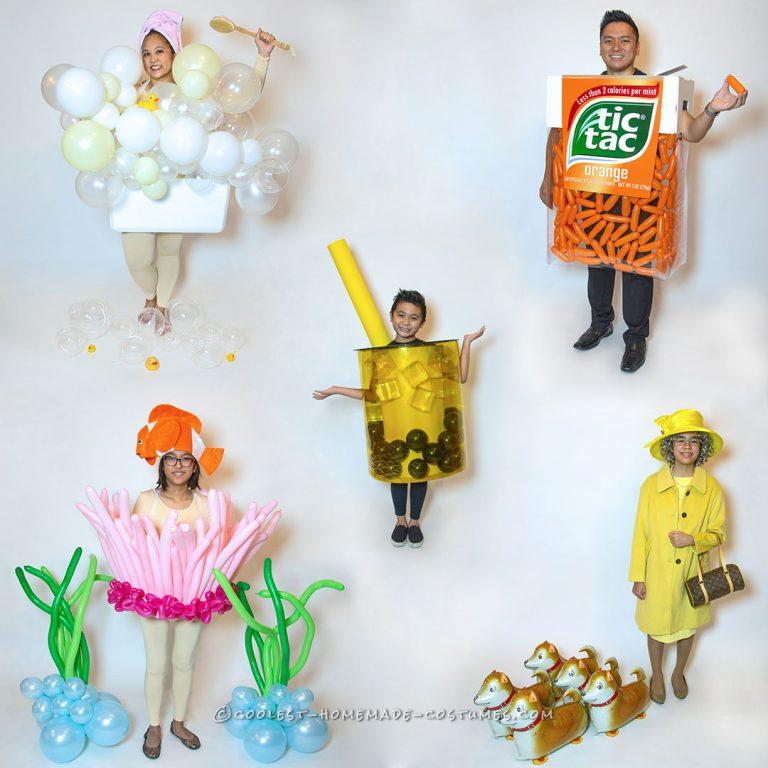 Balloons Galore Family Costumes