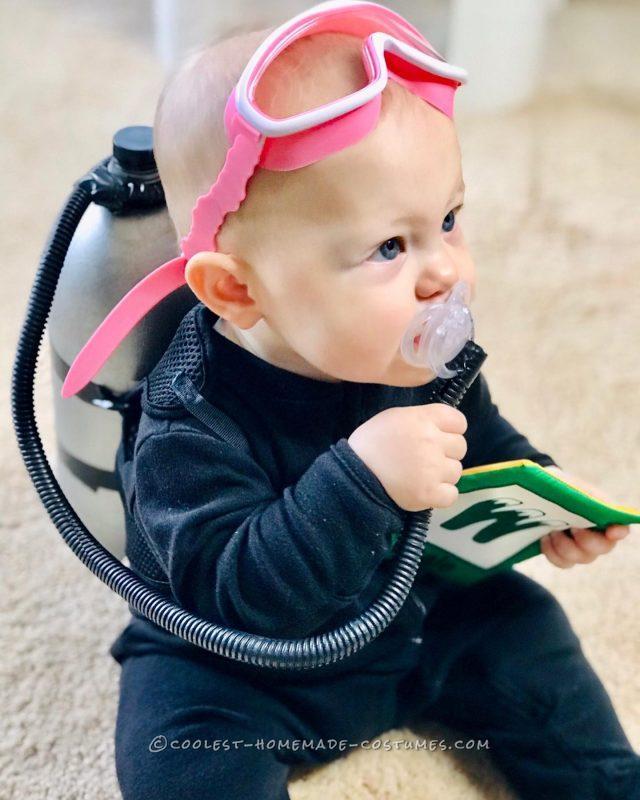Cutest Lil' SCUBA diver: