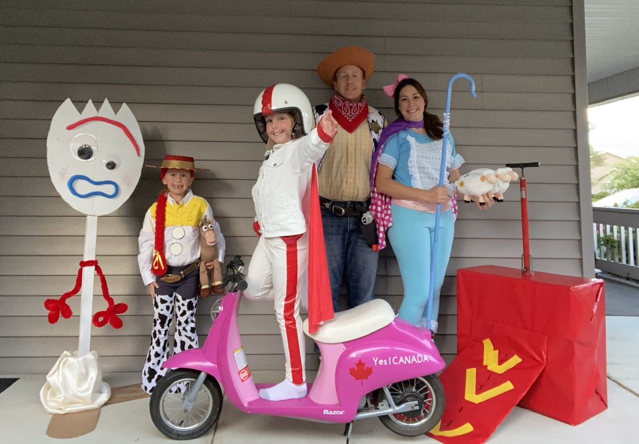 Family of 4 Toy Story 4