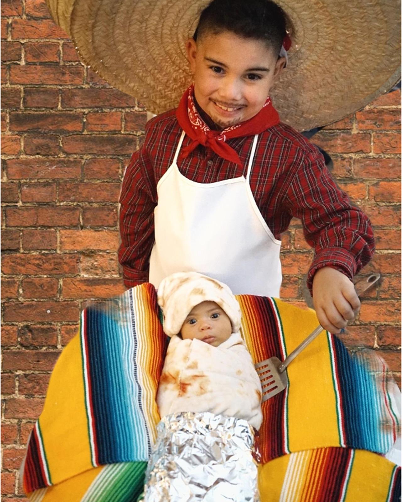 Taco Man and Baby Burrito