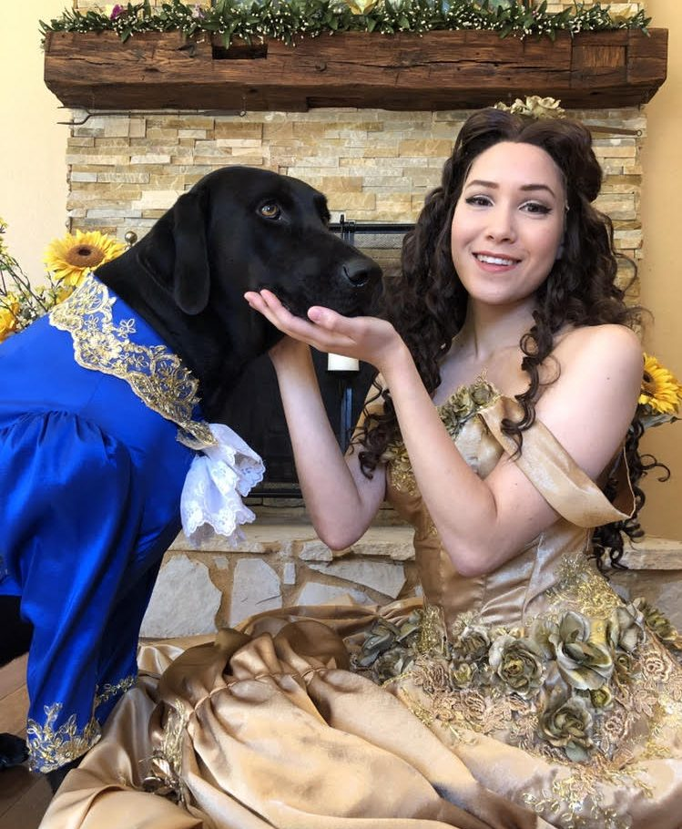 Beauty and the... Dog?