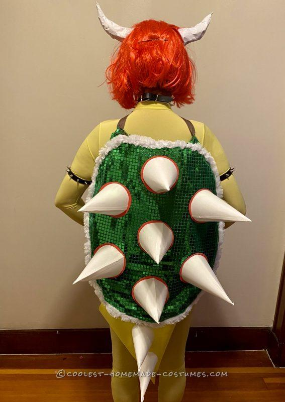 Easy Bowser Costume for Adults