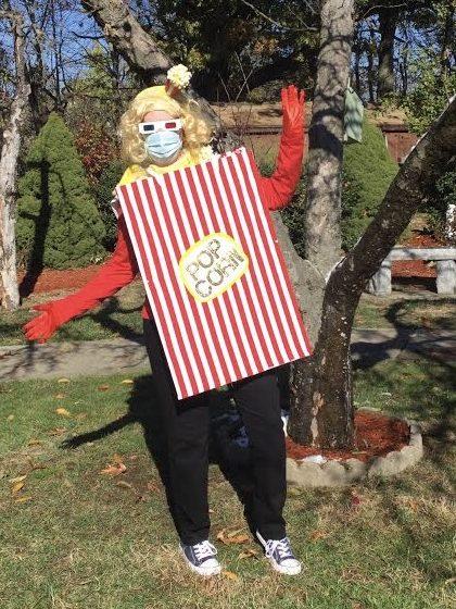 Socially Distanced Popcorn