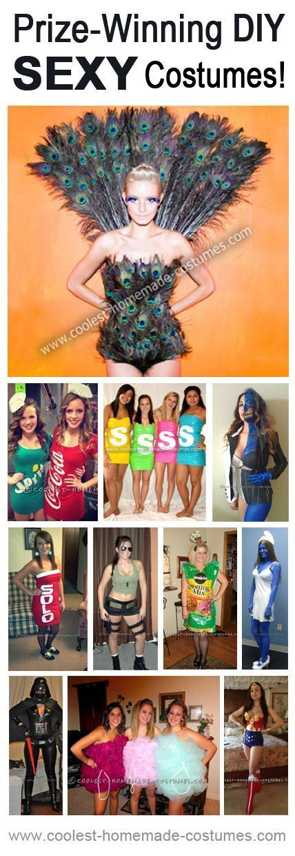 Top 11 Prize-Winning Sexy Halloween Costumes