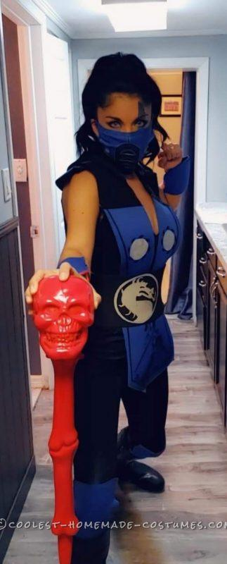Sassy Subzero Costume with a Female Twist