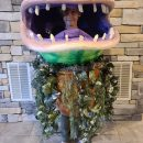 Coolest Homemade Audrey II Costume from Little Shop of Horrors