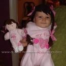 Homemade Doll Costume
