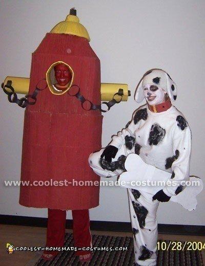Fire Hydrant Child Costume