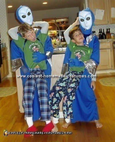 Alien Abduction Costume