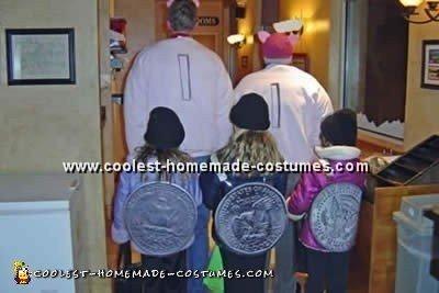 Coin Costume Halloween Image