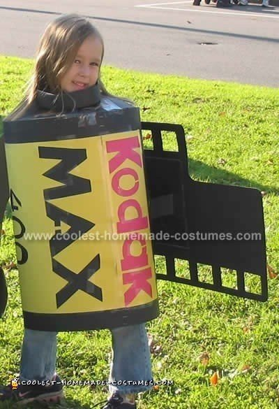 Roll of Film - Make your own Halloween costume