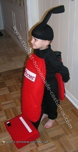 Hoover Home Made Costume