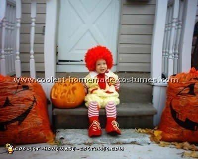 Homemade Ronald McDonald Costume