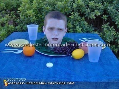 Scary Halloween Costumes - Head on Platter